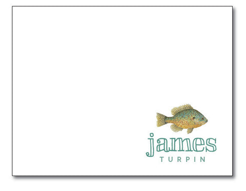 (QTY 24) Bream Stationery Notecard