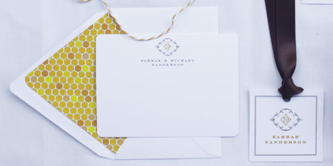 Honeycomb Correspondence Stationery Suite