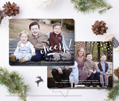Cheers! - Christmas New Year Card