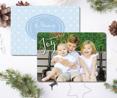 Snow fall Christmas Card