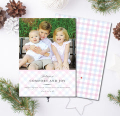 Comfort & Joy Christmas Card
