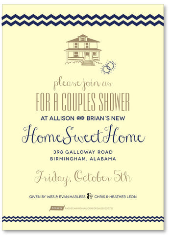 Couple's Shower Housewarming Invitation