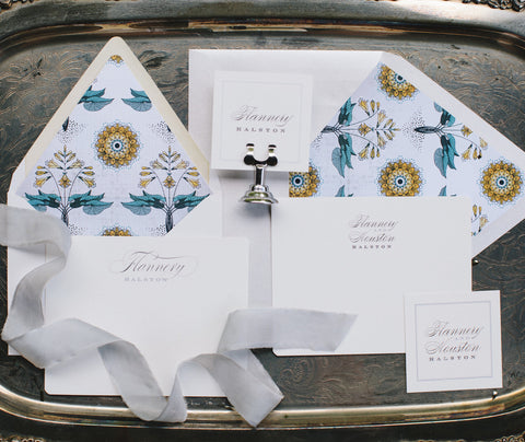 Just Married Wedding Correspondence Suite