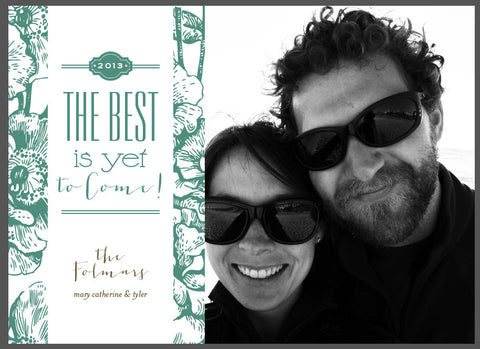 The best is yet to come Christmas Card