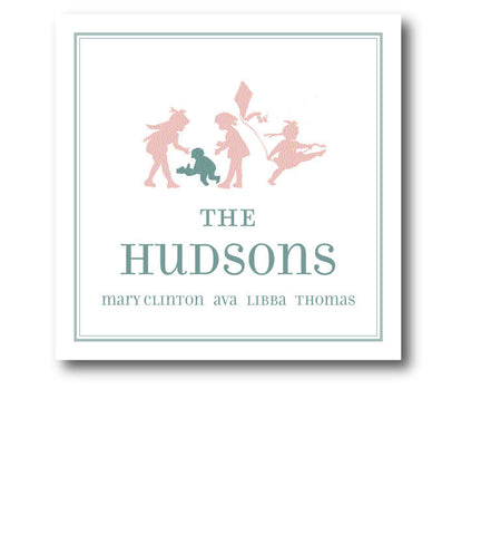 (QTY 24) Family of 4 Silhouette Enclosures-Hudson