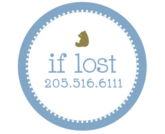 """If Lost"" Stickers"