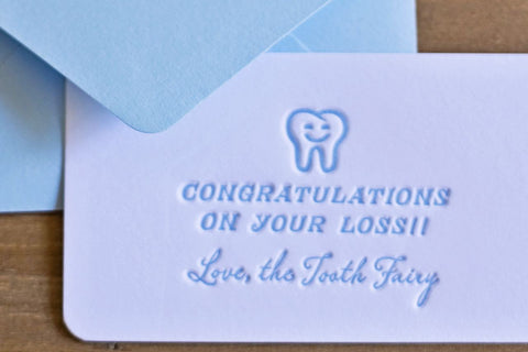 Tooth Fairy Calling Cards