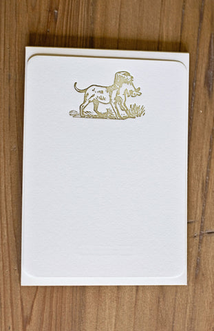 Letterpressed Wildlife Woodlands Set