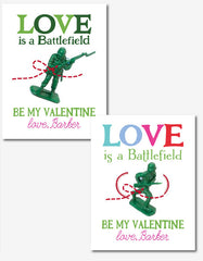 Love is a Battlefield Valentine