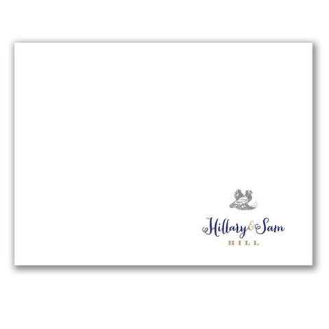 (QTY 12) Stationery Notecards with Grouse