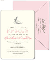 Bunny Rabbit Invitation