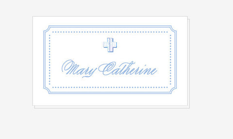Baptism Place Cards - Qty: 20