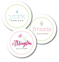 The Round Waterproof Sticker Set - 2.5 inch