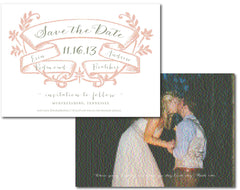 Custom Save the Date- 2 sided