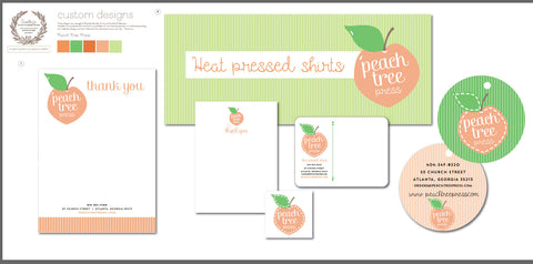 Peach Tree Press Collateral & Branding