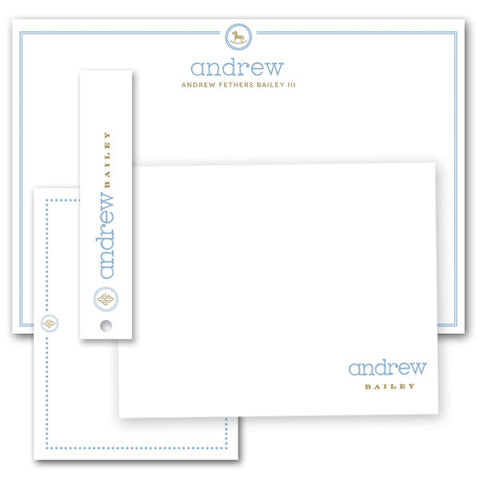Stationery Suite ~ Baby Blue