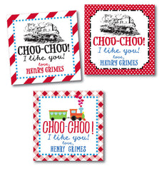 Choo-Choo Train Valentine Tags