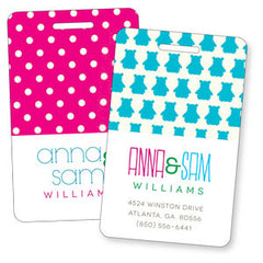 SET OF 2 - Twins Bag Tag Set