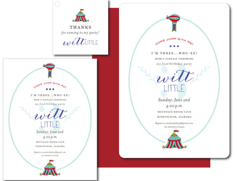 Witt Little Birthday Invites