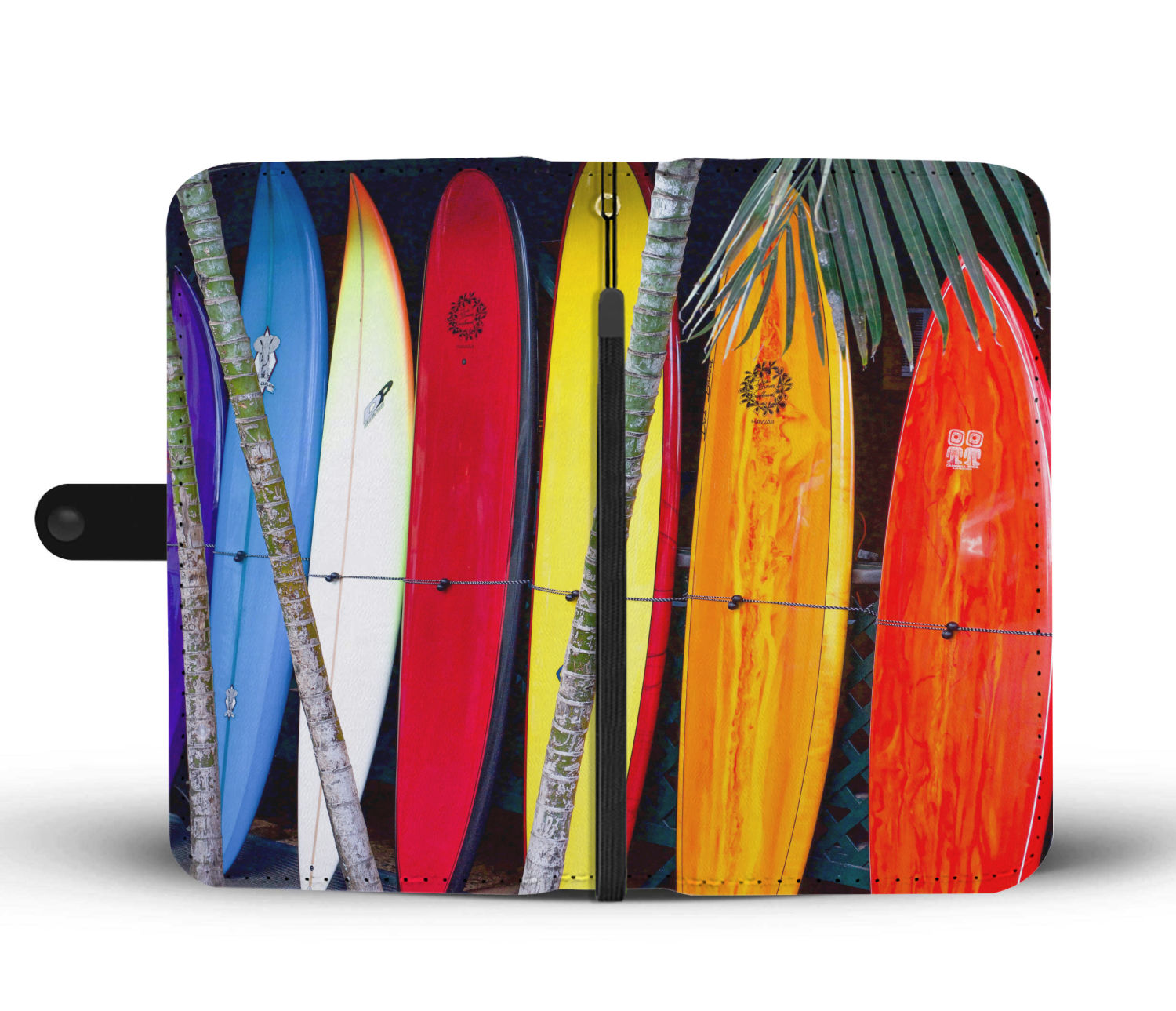 F L I P P I N C A S E   |   Phone Wallet Case - Surfboards