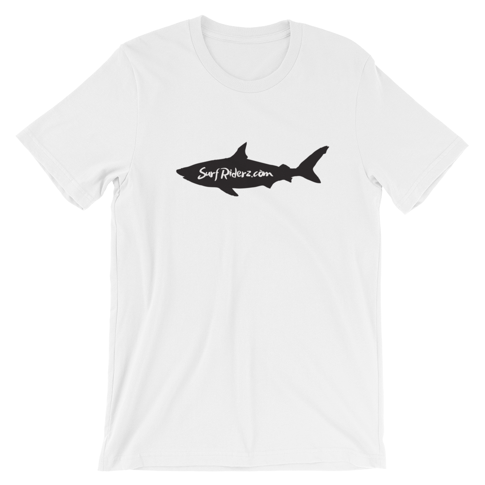 SurfRiderz Shark Short-Sleeve Unisex T-Shirt