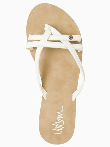 Volcom Look Out Sandal - White