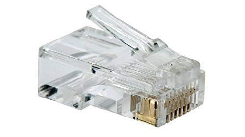 Conector RJ45 Categoria 5e Transparente