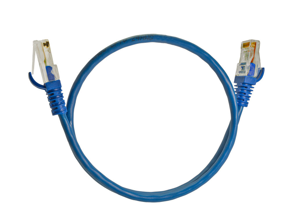 Kit 100 Cabo de Rede Patch Cord UTP Cat5e 30 Centímetros - by Marcos