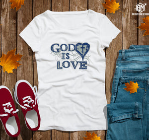 God is Love - BM Custom Design