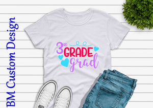 3Th Grade Graduate - BM Custom Design