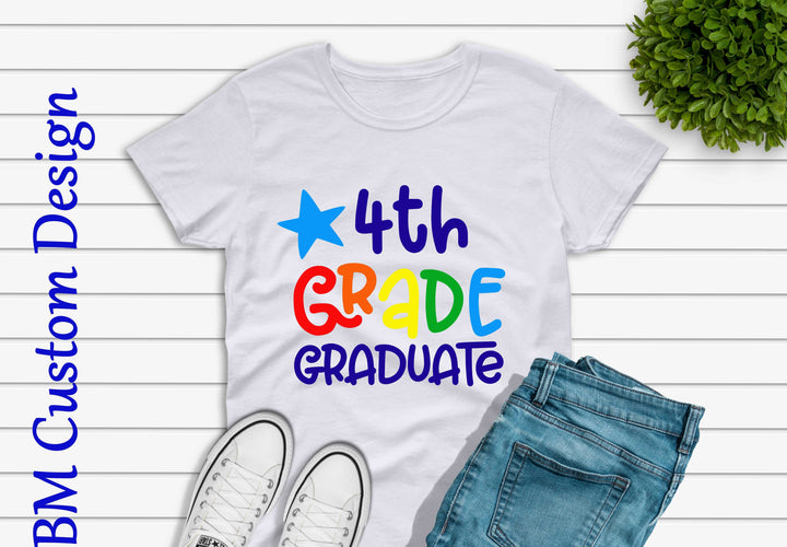 4Th Grade Graduate - BM Custom Design