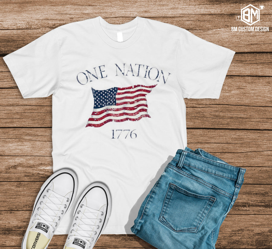 One Nation Under God - BM Custom Design