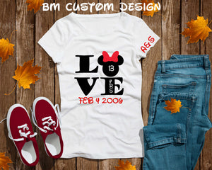 Anniversary Minnie - BM Custom Design