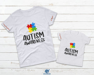 Autism Awareness with Message - BM Custom Design