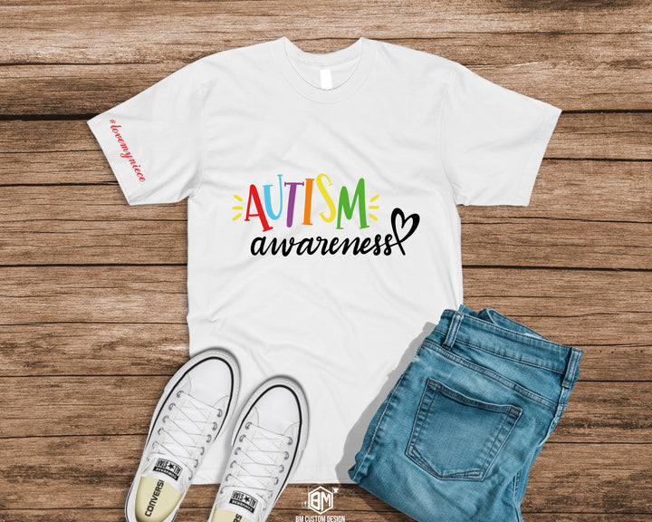 Autism Color Awareness with Message - BM Custom Design