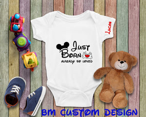 Baby Boy just Born - BM Custom Design