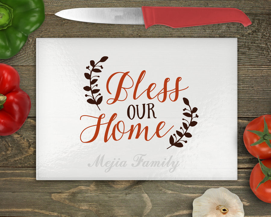 Personalize Cutting Board - Family Name - BM Custom Design