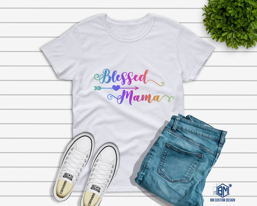 Blessed Mamma Color - BM Custom Design
