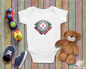 Boston Red Sox All Championships White T-Shirt Infant - BM Custom Design