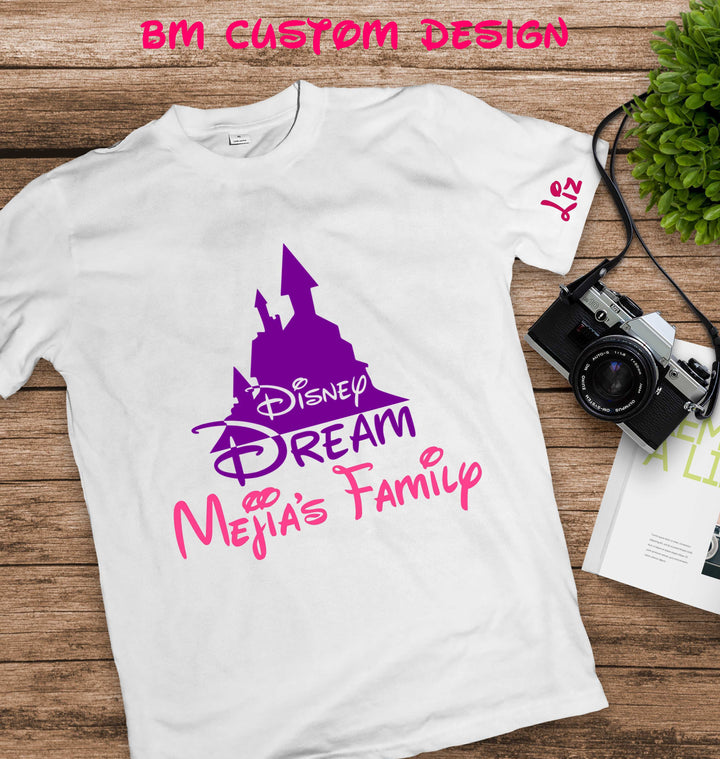 Castle Disney Dream + Name - BM Custom Design