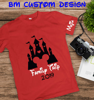 Castle Family Trip+ Year - BM Custom Design