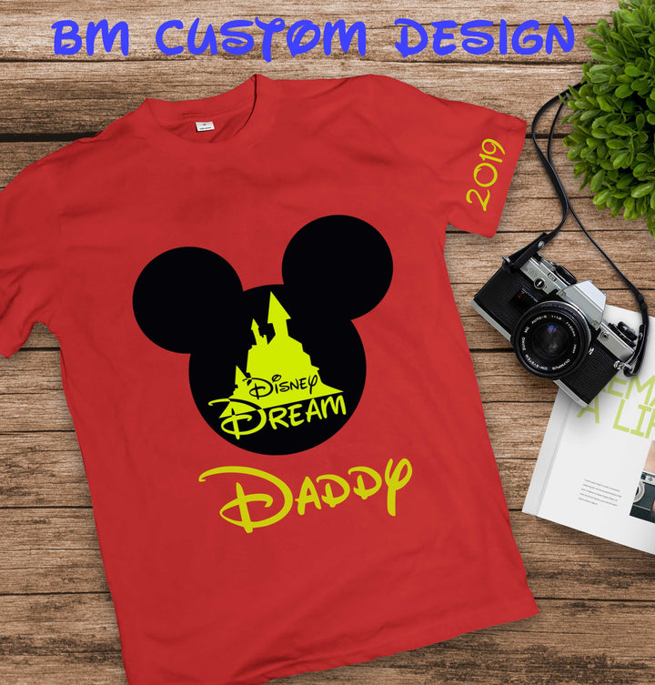 Castle Disney Dream Daddy - BM Custom Design