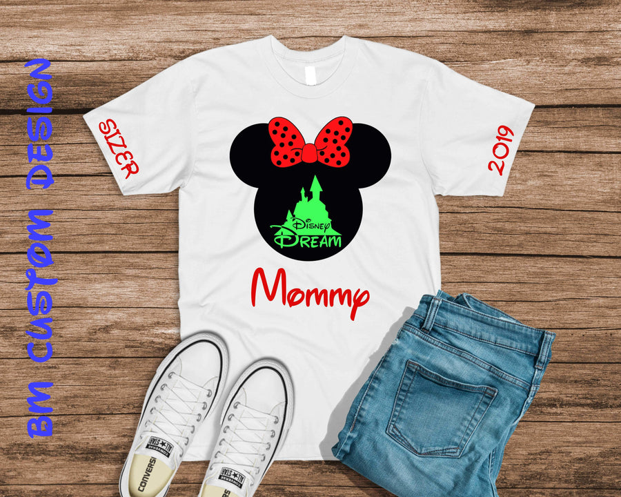 Castle Disney Dream Mommy - BM Custom Design
