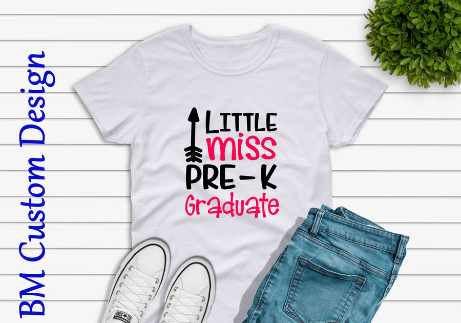 Little Miss Pre K Graduate - BM Custom Design