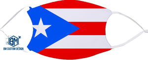 Puerto Rico Personalized Face Mask with Filter