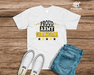 Proud ARMY Grandma - BM Custom Design