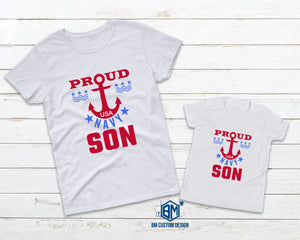 Proud NAVY Son - BM Custom Design