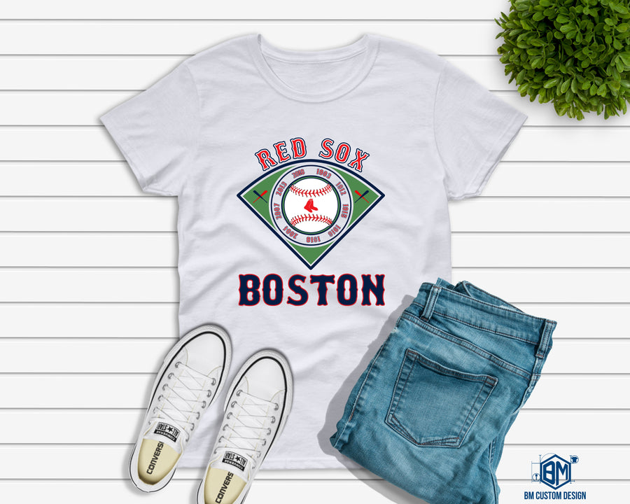 Red Sox All Championships - BM Custom Design