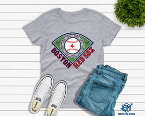 Red Sox All Championships Gray - BM Custom Design