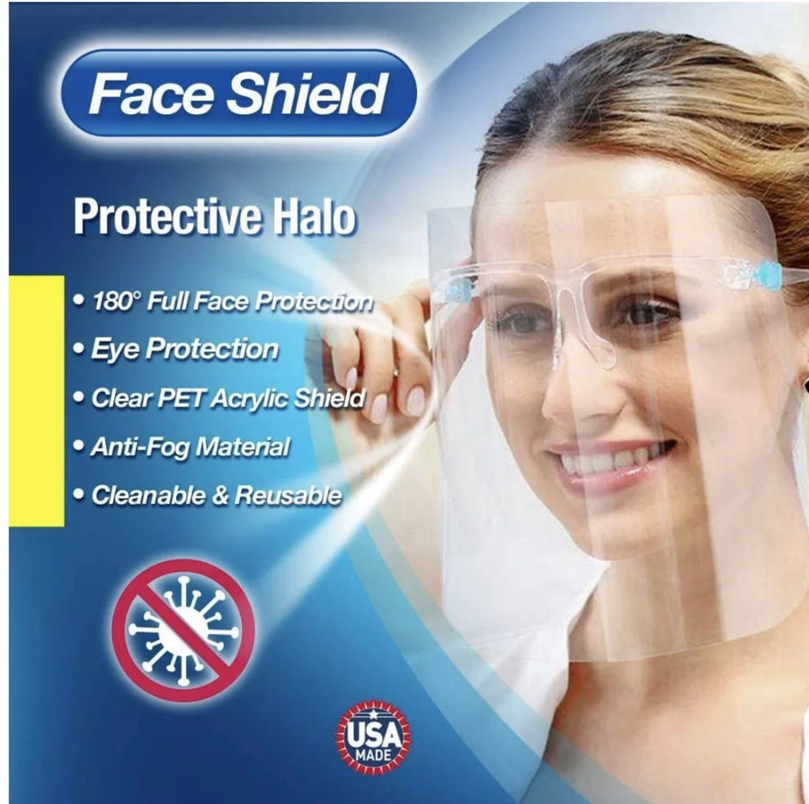 Protective and Fashion Face Shield